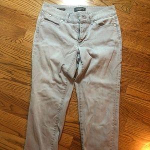 Talbots 2P Boyfriend Gray Jeans